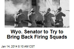 Wyo. Senator to Try to Bring Back Firing Squads