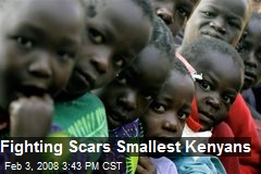 Fighting Scars Smallest Kenyans