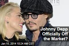 Johnny Depp Officially Off the Market?