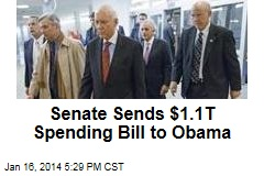 Senate Sends $1.1T Spending Bill to Obama