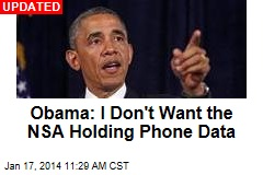 Here's How Obama Will Change NSA Phone Program