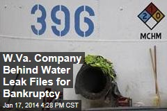 W.Va. Company Behind Water Leak Files for Bankruptcy