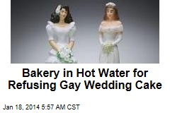 Bakery in Hot Water for Refusing Gay Wedding Cake
