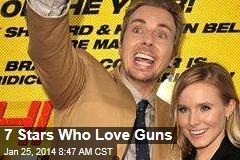 7 Stars Who Love Guns