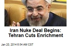 Iran Nuke Deal Begins: Tehran Cuts Enrichment