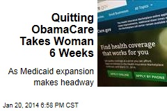 Woman: I Lost 6 Weeks Ditching ObamaCare
