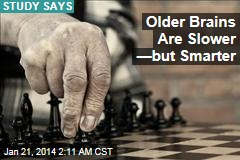 Older Brains Slower But Smarter