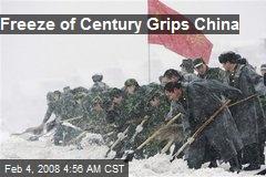 Freeze of Century Grips China