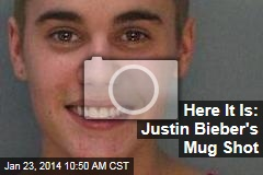Here It Is: Justin Bieber's Mug Shot