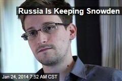 Russia Is Keeping Snowden