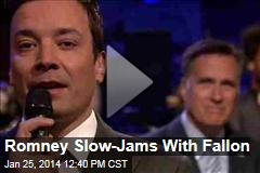 Romney Slow-Jams With Fallon