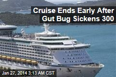 Gut Bug Sickens Hundreds on Cruise