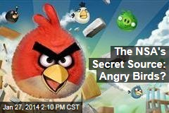 The NSA's Secret Source: Angry Birds?