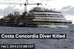 Costa Concordia Diver Killed