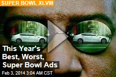 This Year's Best, Worst, Super Bowl Ads