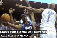 Mavs Win Battle of Howards