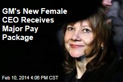 GM's New Female CEO Receives Major Pay Package