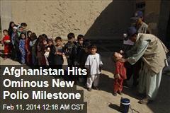 Ominous New Polio Milestone in Afghanistan