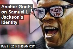 Anchor Goofs on Samuel L. Jackson's Identity