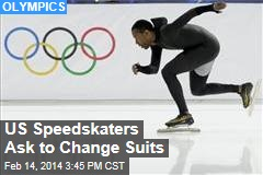 US Speedskaters Ask to Change Suits