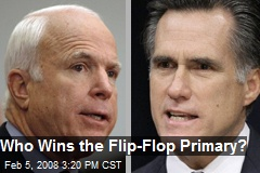 Who Wins the Flip-Flop Primary?
