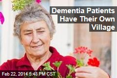 Dementia Patients Get Their Own Village