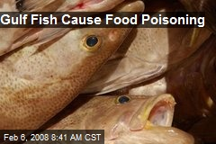 Gulf Fish Cause Food Poisoning