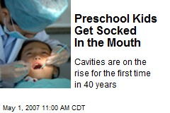 Preschool Kids Get Socked In the Mouth
