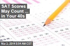 SAT Scores May Count... in Your Job Application