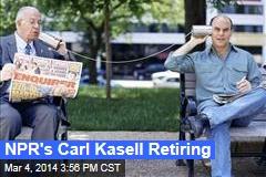 NPR's Carl Kasell Retiring