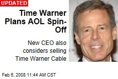 Time Warner Plans AOL Spin-Off