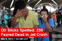 Malaysia Airlines Jet With 239 Aboard Is Missing