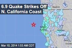 Strong Quake Strikes Off N. Calif. Coast