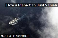 How a Plane Can Just Vanish
