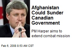 Afghanistan Could Sunder Canadian Government