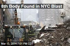 8th Body Found in NYC Blast