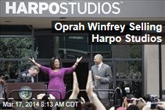 Oprah Winfrey Selling Harpo Studios to Developer
