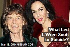 Jagger Denies Split With Scott Before Her Death