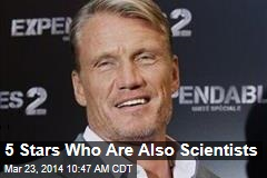 5 Stars Who Are Also Scientists