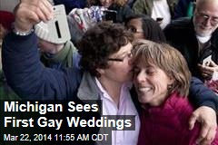 Michigan Sees First Gay Weddings