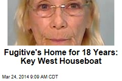Fugitive's Home for 18 Years: Key West Houseboat