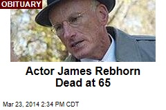 Actor James Rebhorn Dead at 65