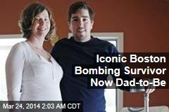 Iconic Boston Bombing Survivor Now Dad-to-Be