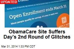 ObamaCare Site Began Deadline Day Offline