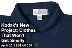 Kodak's New Project: Clothes That Won't Get Smelly