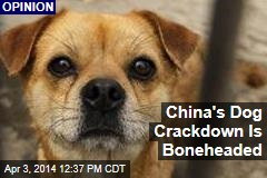 China's Dog Crackdown Is Boneheaded
