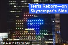 Tetris Reborn—on Skyscraper's Side