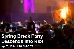 Calif. Spring Break Party Descends Into a Riot
