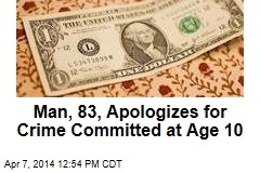 Man, 83, Apologizes for Crime Committed at Age 10