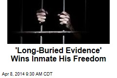 'Long-Buried Evidence' Wins Inmate His Freedom